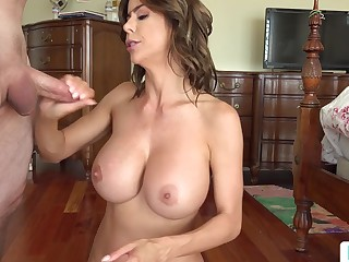 stepmom alexis fawx uses stepson for making out - alexis fawx