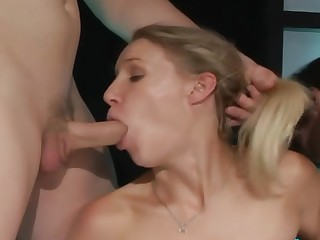 Allison Pierce Gets Double Penetrated And Double Teamed