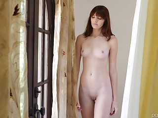 Before rough sex Lena Anderson eats friend's penis like no several before