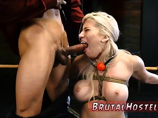 Anal slave possession Big-breasted ash-blonde sweetie