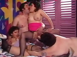 Chilling Familia - fruit group mating orgy with fat BBW aristocracy