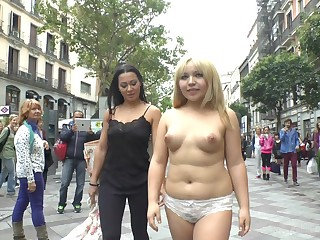 Chubby Asian GF Mitsuki Appealing public place humiliation and sex