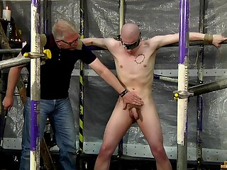 Cock and ball torture on touching weirdo gay lovers Sebastian Kane and Oliver Wyatt