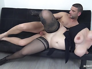 Sex-hungry hottie follows the stranger to obtain hard sex