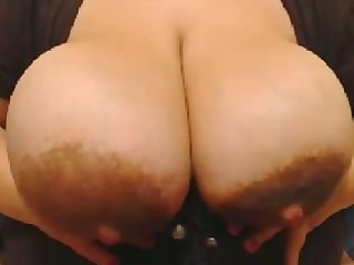 This BBW's rack is a great gift to mankind and this whore loves masturbating
