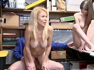 Caught jerking off by tourist house baste Both grandmother with an increment of
