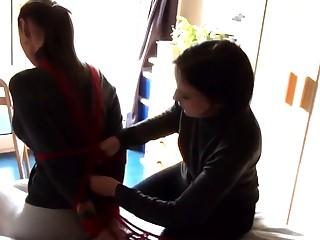 Japanese lesbians bdsm fetish