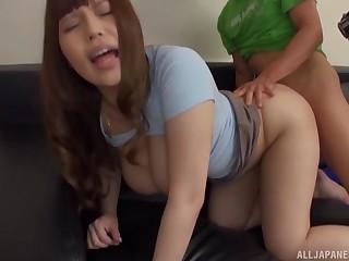 Duo shy dudes get their cocks pleasured away from prexy Rion Nishikawa