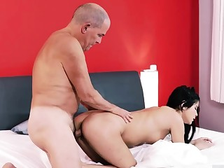 Old prostitute first time Older gentleman and his princess