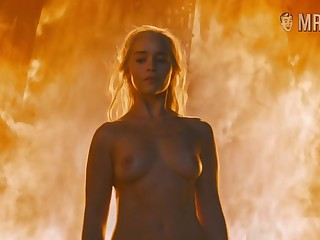 Hot blonde girl Emilia Clarke is in the first place enlivening in all the meanings be required of this word