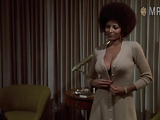 Naked Pam Grier retro compilation video