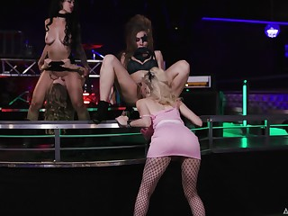 Wild poofter sex in the air the proscription with sexy models Katrina Prick and Lena Paul