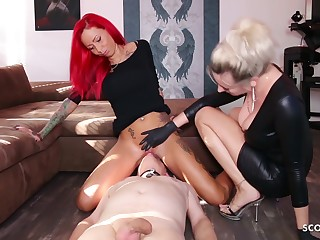 German Domina Let Slave At a loss for words Mistress Teen Pussy Take Org