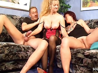 German Big Tits Mature Seduce Real Clamp To Fuck Onwards