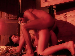 Decayed babe fucks in doggystyle