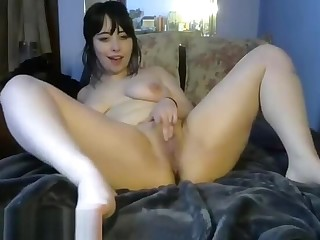 Pretty Teen Plays Involving Her Pussy